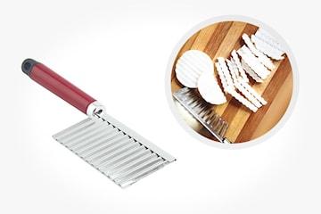 Bølget kjøkkenkniv