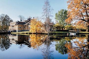 En natt för två personer på Dufweholms Herrgård