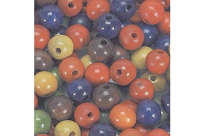 Träpärlor 5mm 1000 st, Mix