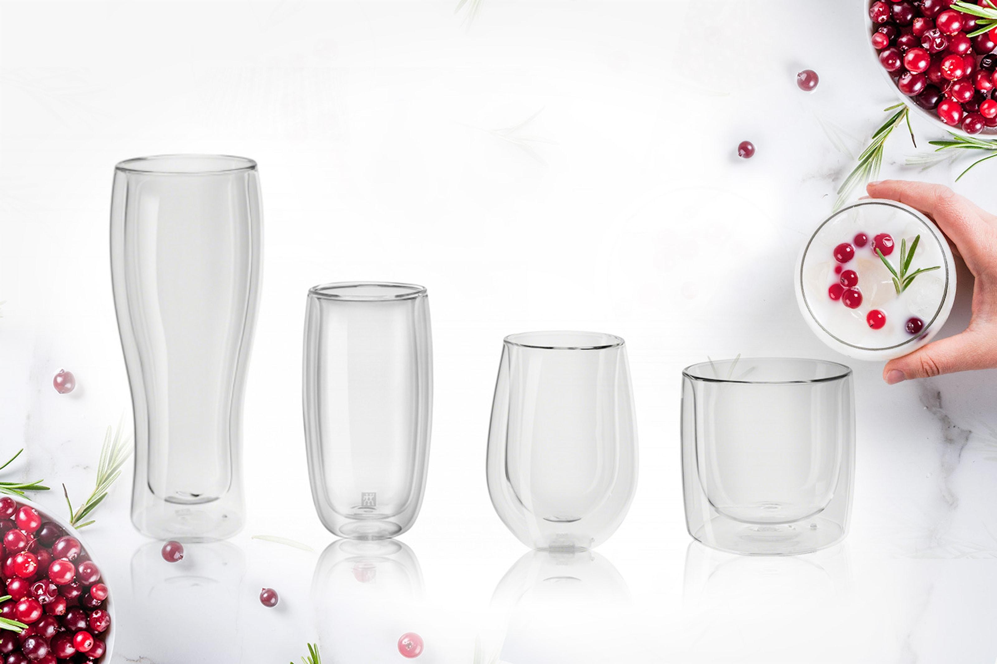 2-pack dubbelväggade glas från Zwilling