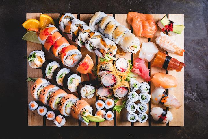 Sushi takeaway: 30 eller 40 biter hos Taste of Asia på Alexander Kiellands plass