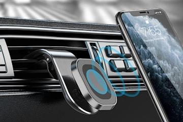 Magnetisk mobilhållare för fläktgaller