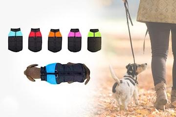 Vattentätt och varmt hundtäcke
