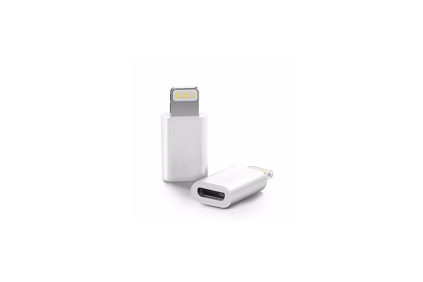 Lightning adapter for micro USB