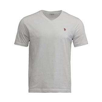 Hvit, Svart, M, 2-pcs, T-skjorter fra U.S. Polo, ,