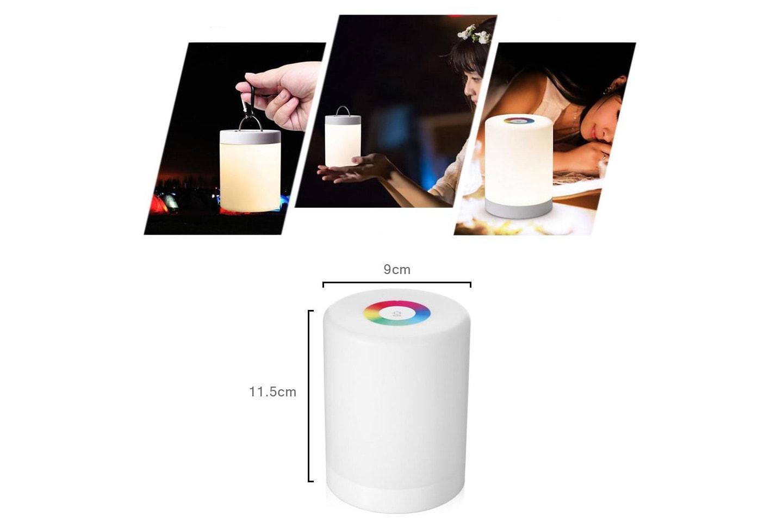 Smart nattlampe med touch