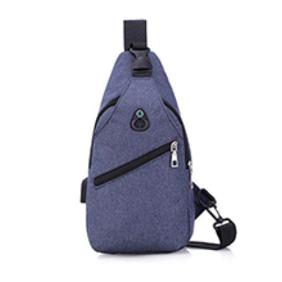 Blå, Sport Crossbody Shoulder Bag, Crossbody-väska, ,  (1 av 1)