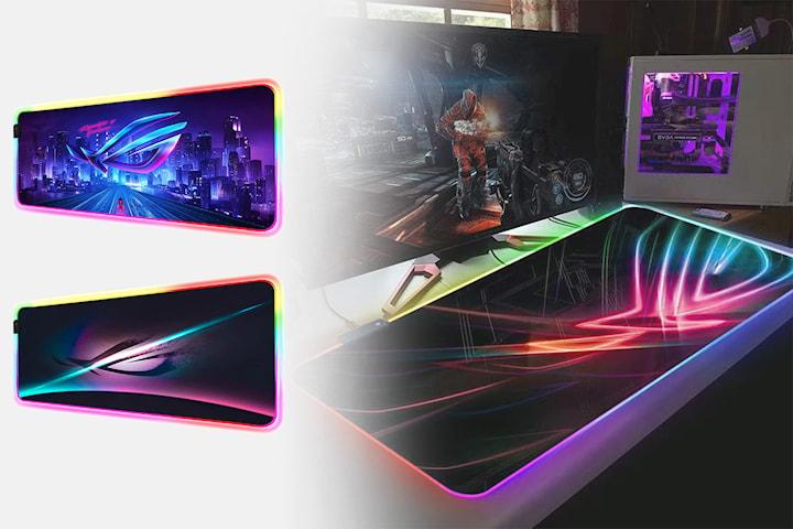 RGB gaming musematte