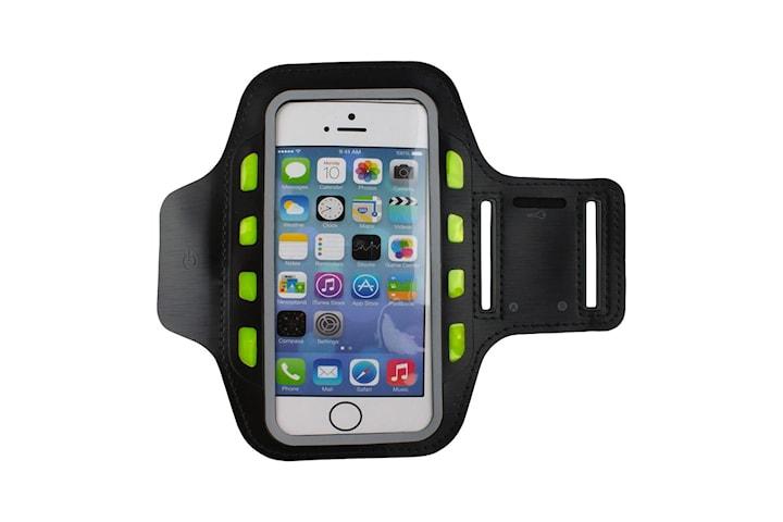 LED Sportarmband för Smartphone - Svart