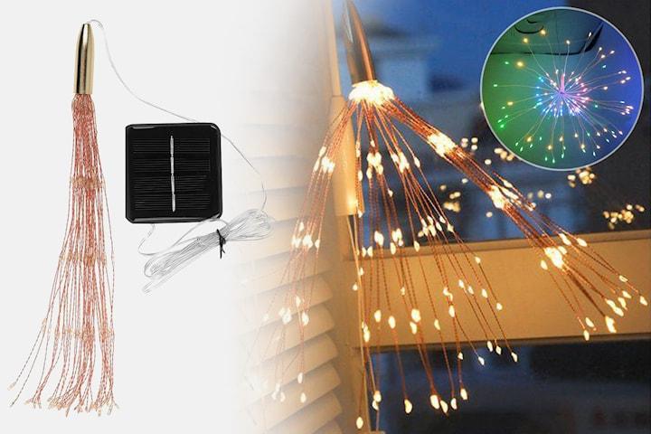 Soldrevet LED-strenglys