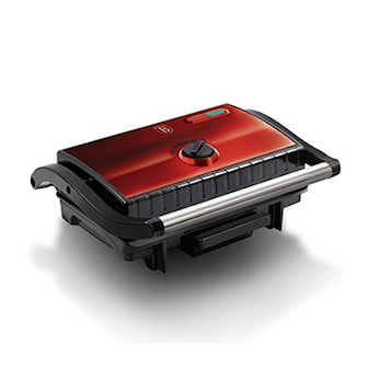 Burgundy, Electric grill with oil drip pan from BerlingerHaus, Berlinger Haus elgrill, ,