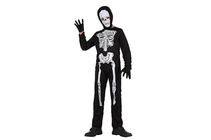 Skelettdräkt, Maskerad - Halloween