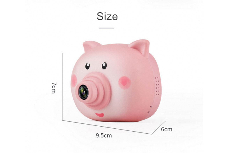 Digitalkamera i grisedesign