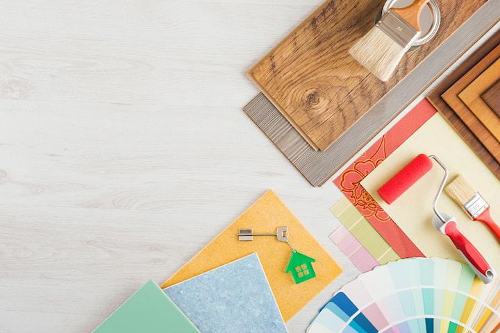 Håndverkertjenester til ditt hjem -gjelder all type snekkerarbeid, monteringer, maling, sparkling og mer utført av SFL Bygger