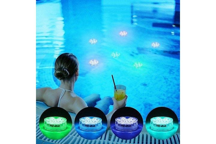 LED Ljus till bubbelbad, Pool, badkar. Vattentät, Water Candle