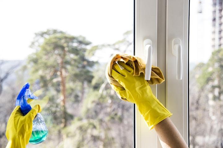 Fönsterputsning från Clean it up