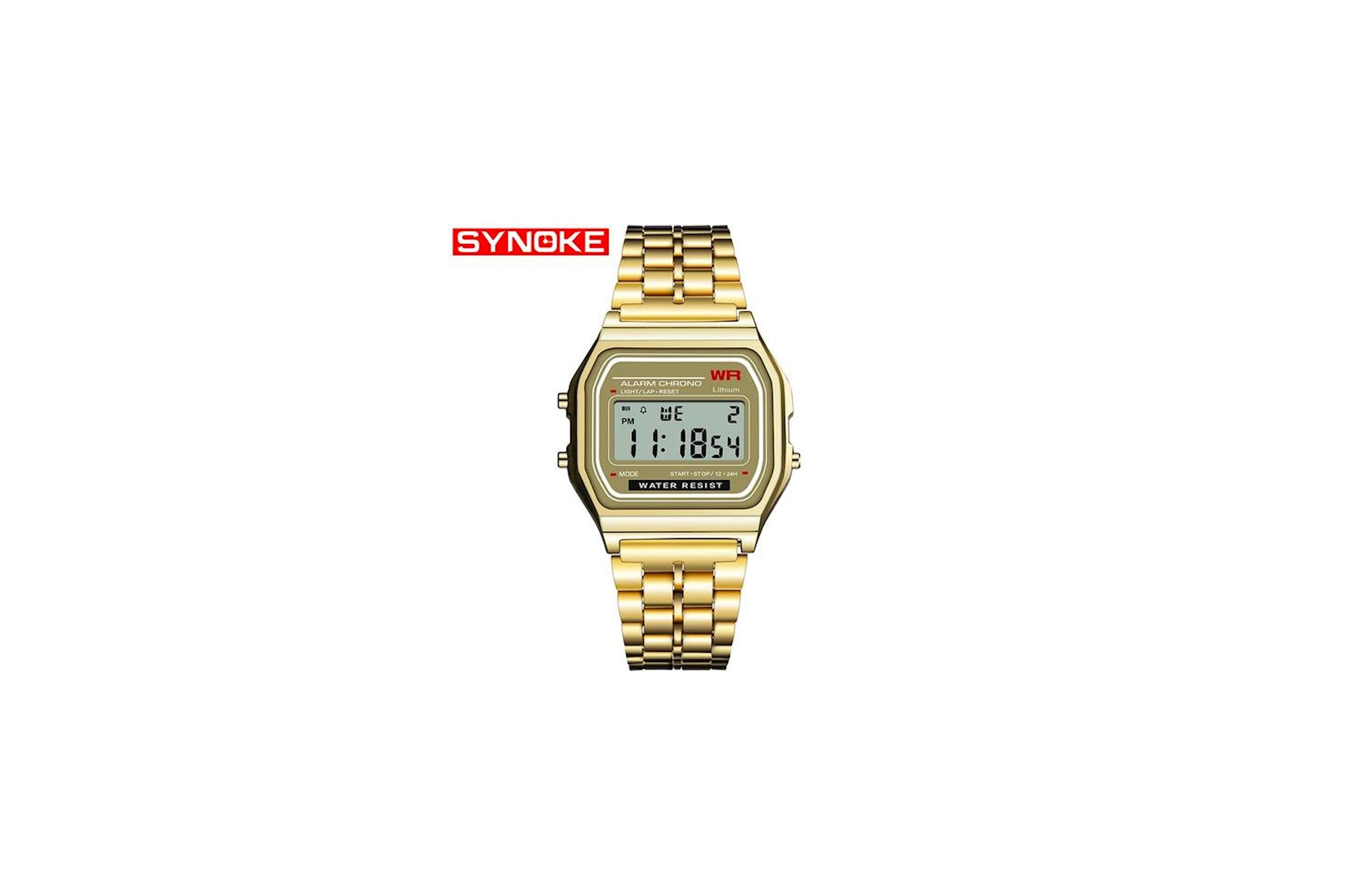 Digital klokke fra Synoke