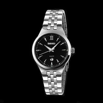 Svart, 31 mm, SKMEI-9071 Watch, Klocka i rostfritt stål, ,