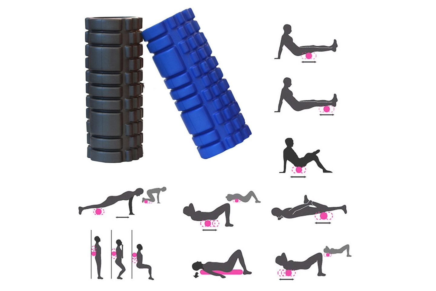 Foam roller, massagerulle