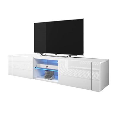 White Matt/Gloss, With LED, Med LED-belysning, ,  (1 av 1)