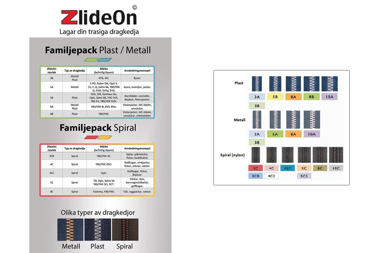 Zlideon 5-pack