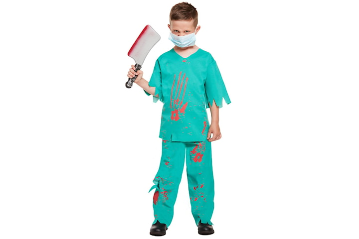 Blodig Doktor, Maskerad - Halloween - 10-12 år