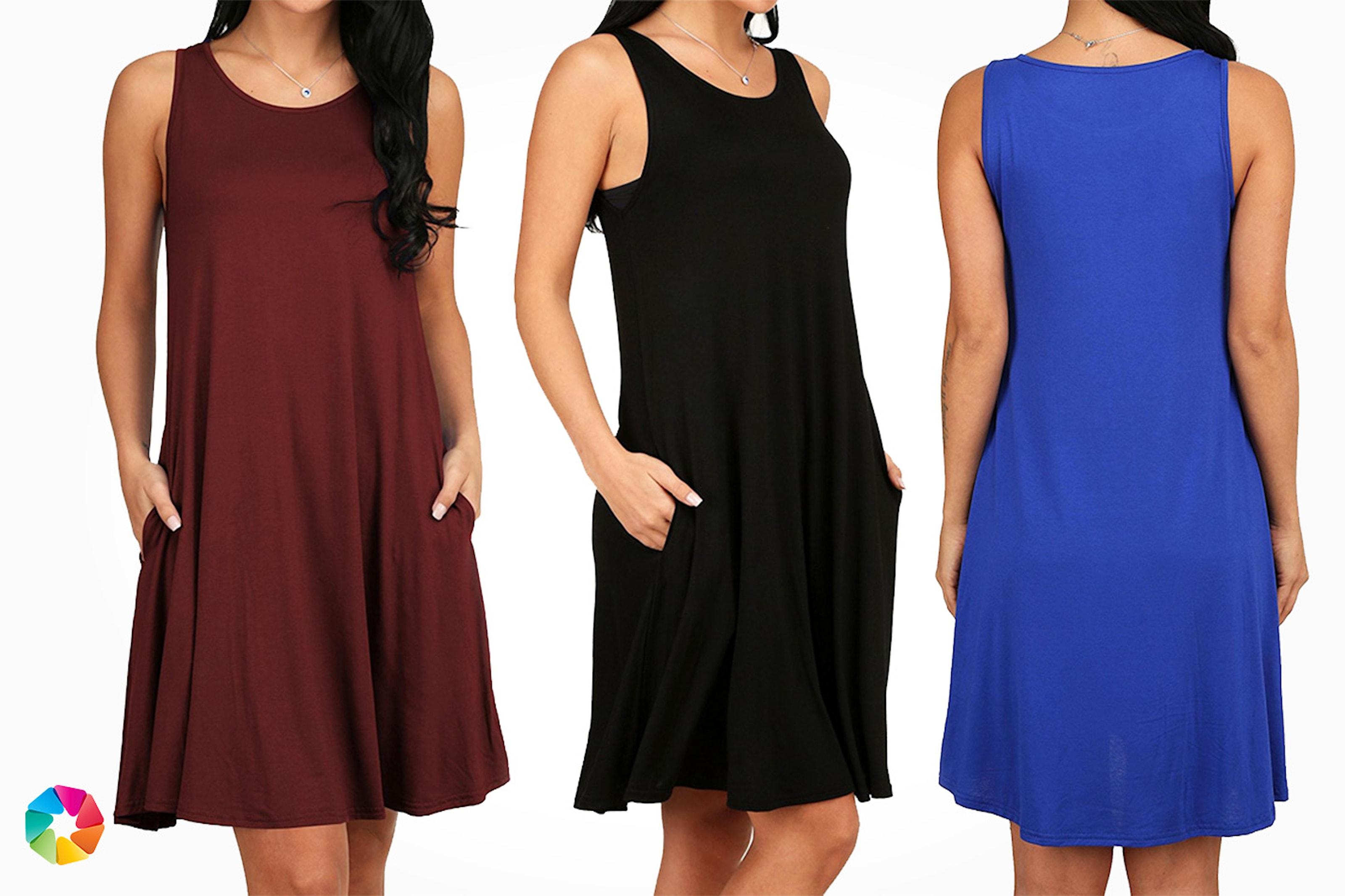 Skön klänning i 1- och 2-pack