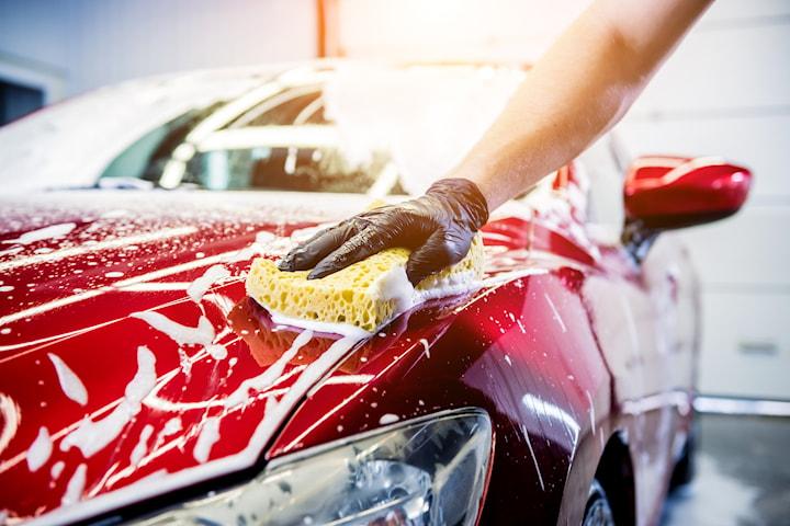 In- och utvändig biltvätt