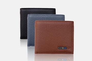 Lommebok med Bluetooth sporingsbrikke