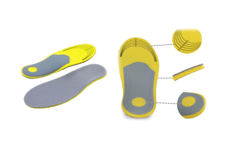 Stötdämpande skosulor