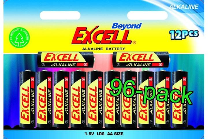 Beyond Excell AA (LR6), batteri, alkaline, 96-pack