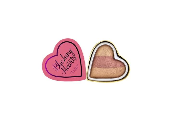 Makeup Revolution Blushing Hearts - Peachy Keen Hearts Blusher