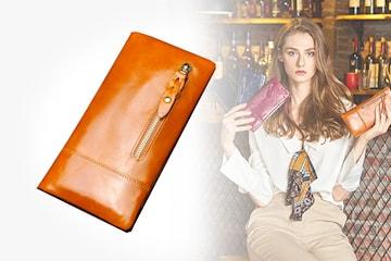 Plånbok i läder