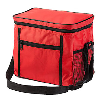 Rød, Spacious Cooler Bag, Kjølebag 11 liter, ,