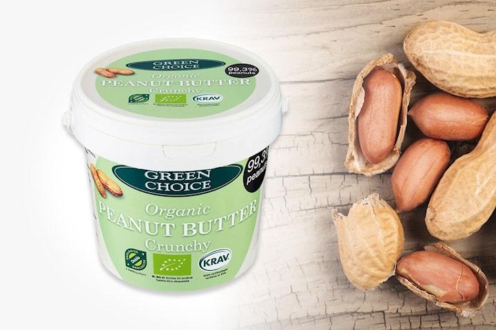 1 kg jordnötssmör Green Choice