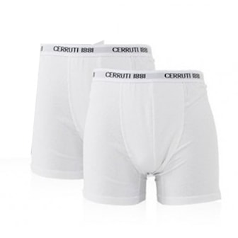 Vit, XL, Cerrutti Boxershorts, 2-pcs, Cerruti boxers, 2-pack, ,