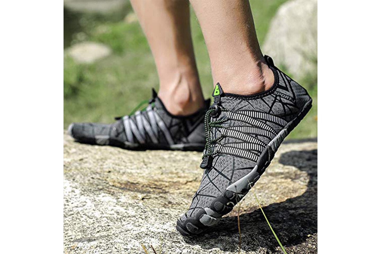 Sneakers med mjuk sula