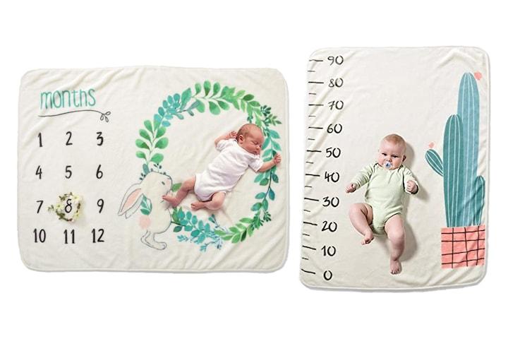 Baby milepælteppe