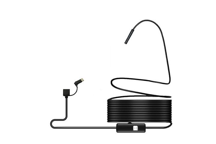 Inspektionskamera med LED-ljus