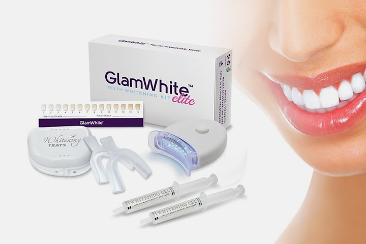 GlamWhite tandblekning hemma