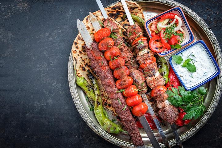 Persisk 3-rätters middag inkl. cava hos New Taste