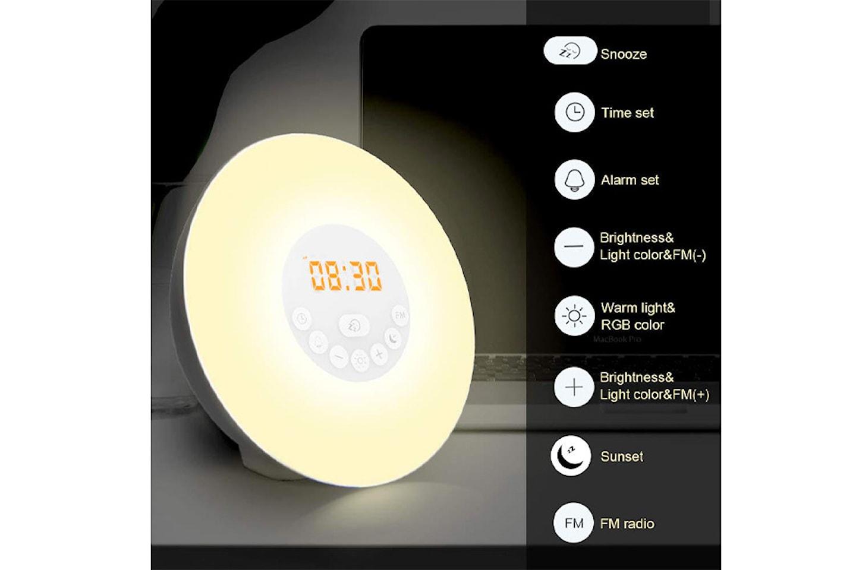 Wake-up alarmklokke