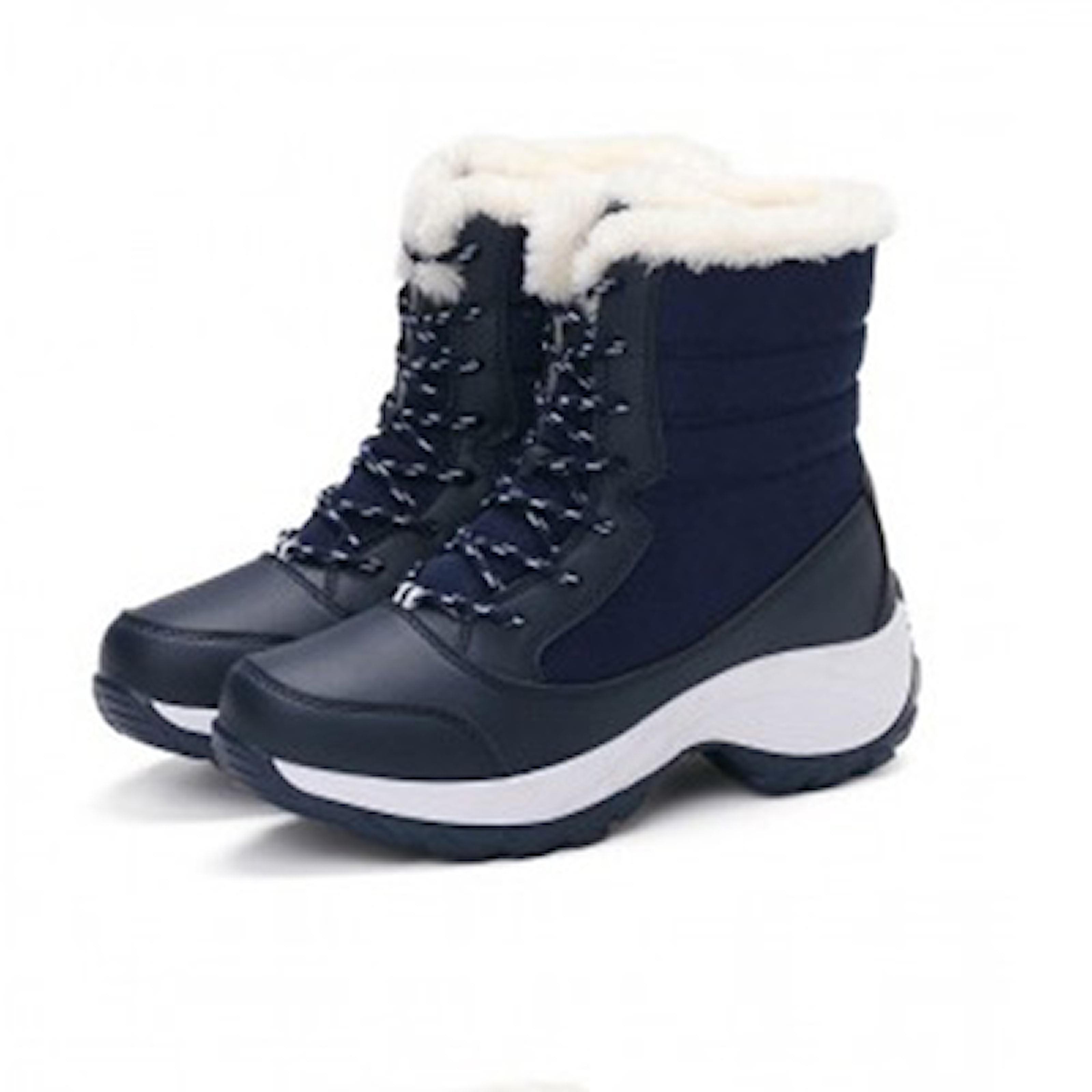Mørkeblå, 35, Children Winter Boots, Varme vinterstøvler, ,