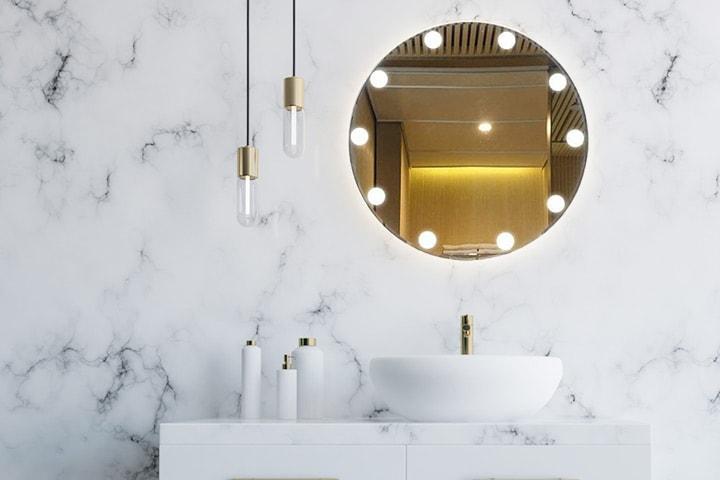 LED-lampor för spegel 10-pack