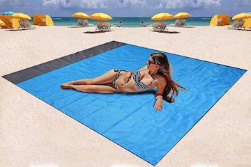 Vattentät strandfilt
