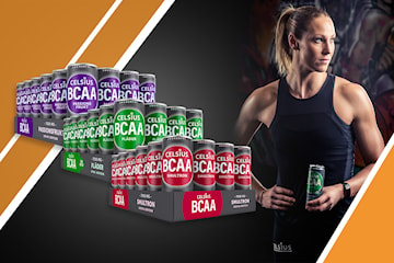 24-pack Celsius BCAA, 100% vegansk