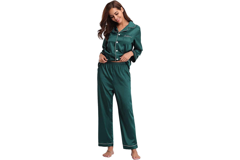 Silkesmjuk pyjamas