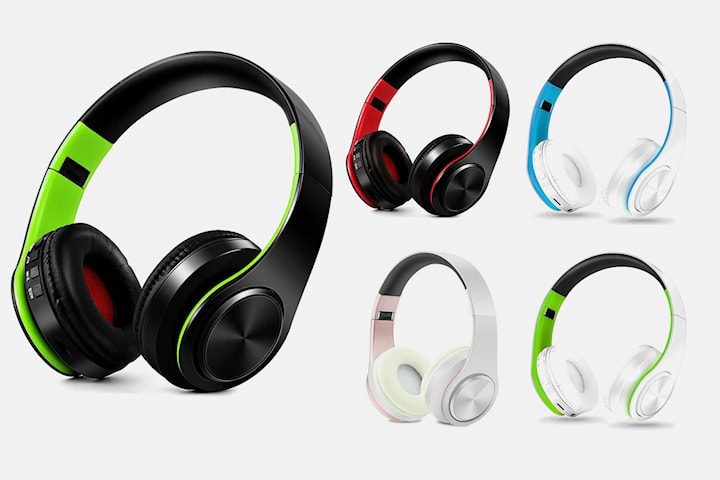 Trådløse hodetelefoner med surroundlyd
