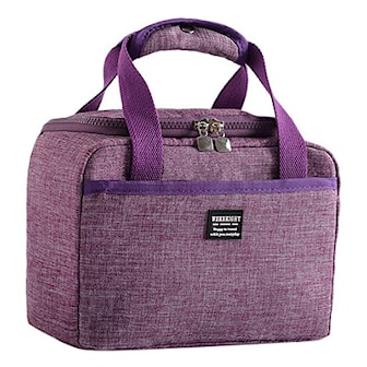 Lilla, Office thermal lunch bag, , ,