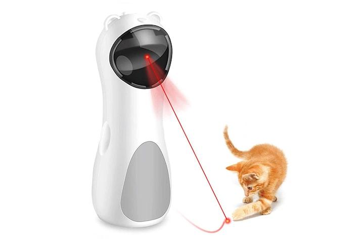 Automatisk laserleksak för katter